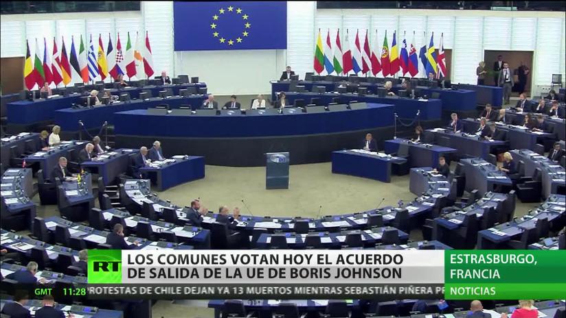 La Cámara de los Comunes votará sobre el acuerdo del Brexit de Boris Johnson