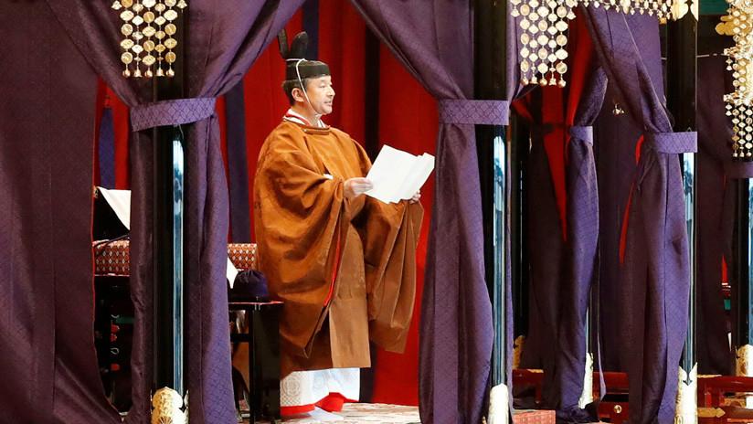 Naruhito se proclama nuevo emperador de Japón