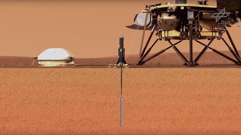 VIDEO: Descubren una inusual característica del suelo de Marte que por meses impidió a la sonda de la NASA excavar un simple agujero