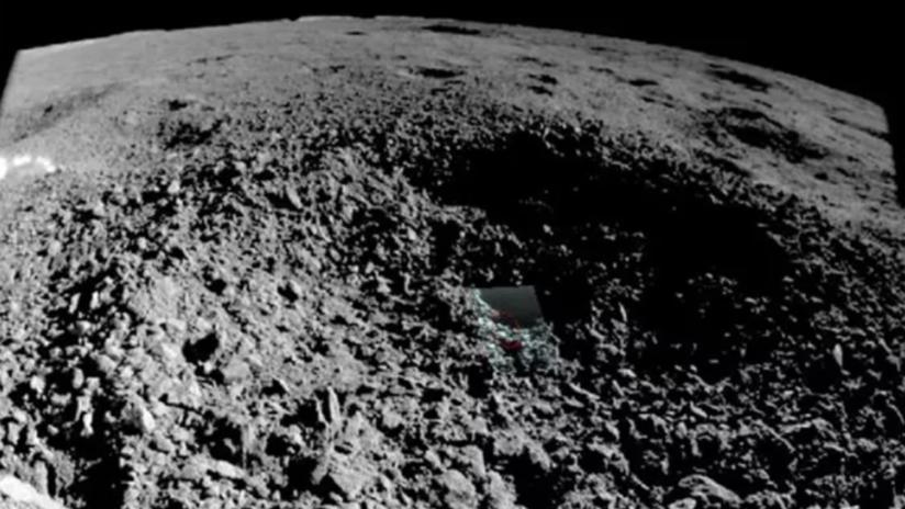 Nueva foto de la sustancia espacial captada en el lado oculto de la Luna ayudaría a determinar su naturaleza