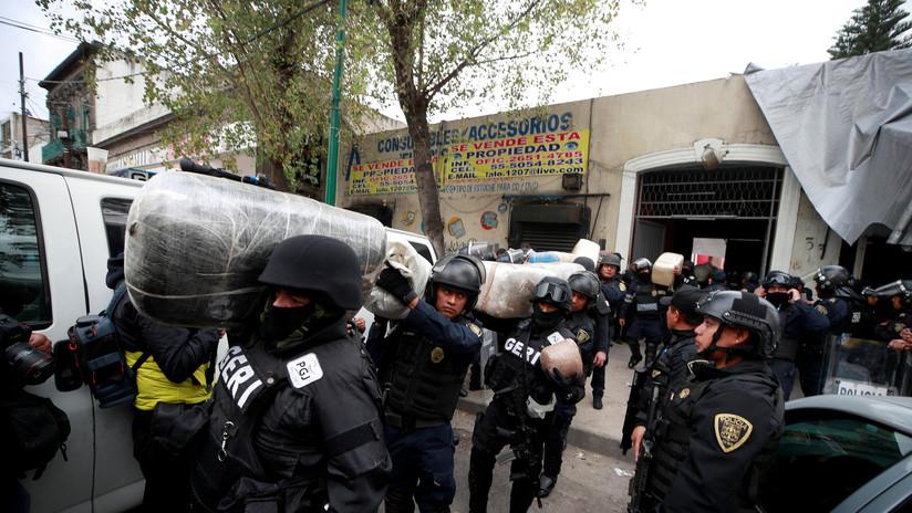 Detenidos, armas y un 'narcotúnel': el saldo de una operación policíaca en el barrio mexicano de Tepito (FOTOS, VIDEO)