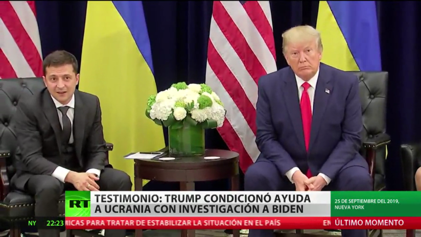Exembajador de EE.UU. en Ucrania afirma que Donald Trump sí condicionó la ayuda militar a Kiev
