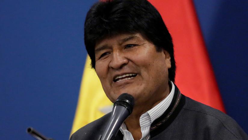 """VIDEO: Evo Morales denuncia un """"proceso de golpe de Estado"""" y llama al pueblo a organizarse y defender la democracia"""