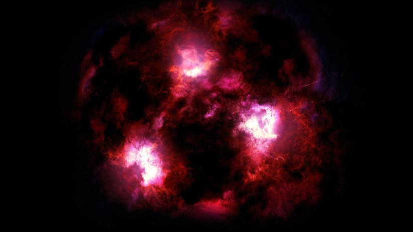 """Astrónomos descubren accidentalmente huellas de una galaxia """"monstruosa"""" nunca antes vista"""