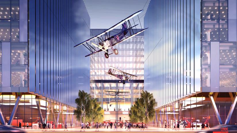 Así lucirá el nuevo Centro Nacional Espacial en Moscú
