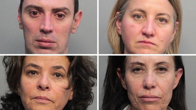 Arrestan en Miami a cuatro auxiliares de vuelo de American Airlines, acusados de lavado de dinero