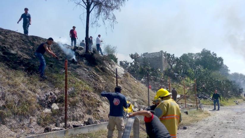 FOTOS, VIDEO: Al menos dos personas muertas y varias heridas tras una explosión de pirotecnia en México