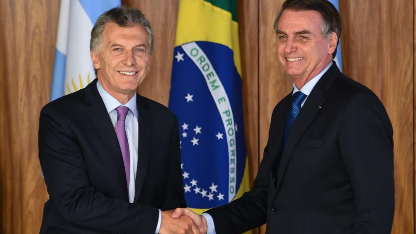 Bolsonaro teme por el futuro de sus proyectos en Mercosur si gana la oposición en Argentina