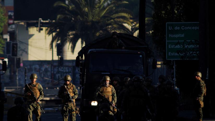 Gobierno chileno decreta el quinto toque de queda en Santiago mientras continúan las protestas en todo el país