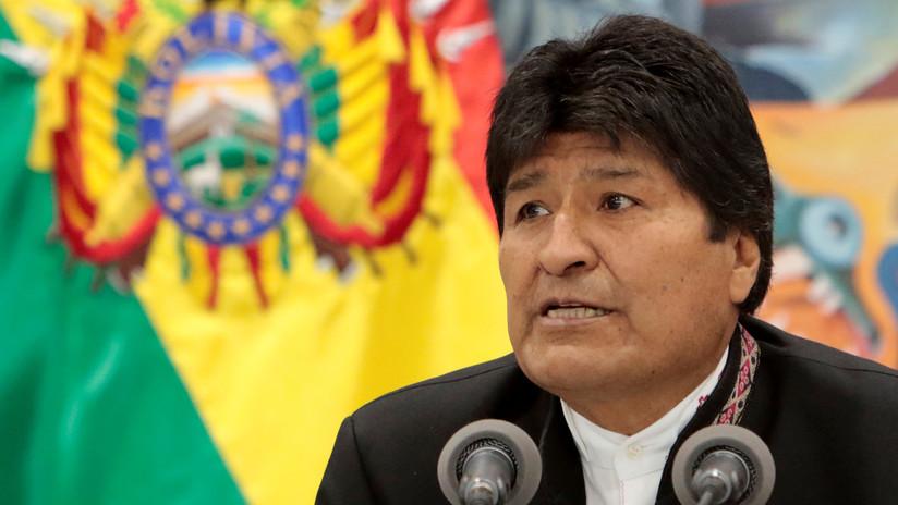 """Evo Morales: """"Ya ganamos en la primera vuelta las elecciones de Bolivia"""""""