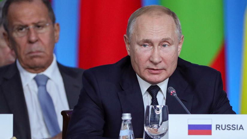Putin afirma que África ha abierto una nueva página en sus relaciones con Rusia