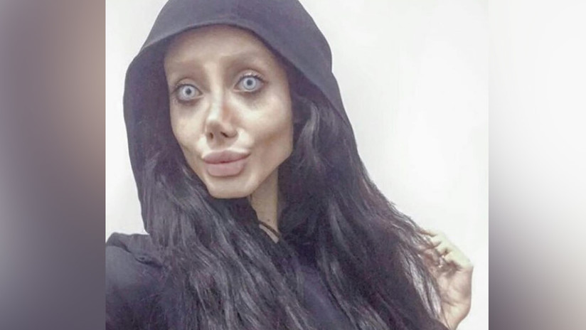 La 'Jolie zombi' aparece en la televisión iraní tras ser acusada de blasfemia y corrupción de la juventud