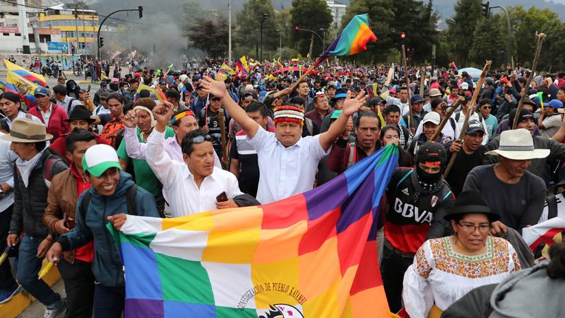 Indígenas de Ecuador iniciarán acciones legales contra el Estado por violación de derechos humanos durante las protestas