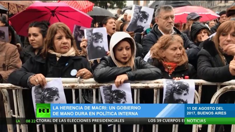Argentina: El legado de Macri deja un gobierno de mano dura en política interna