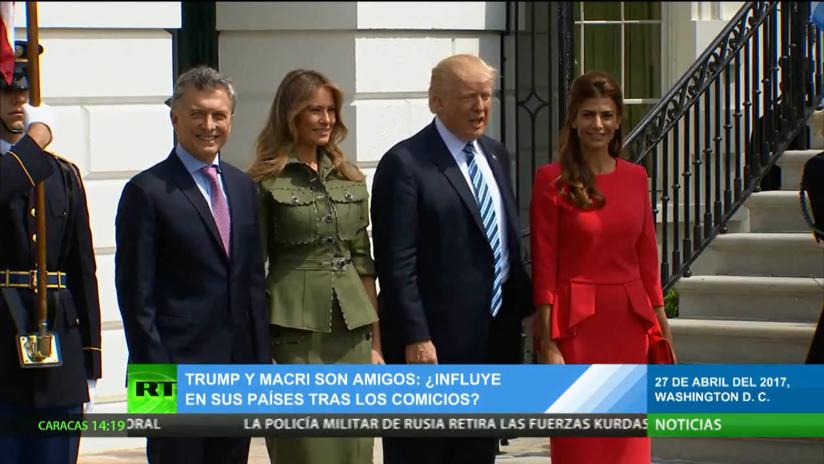 ¿Cómo influye la amistad entre Trump y Macri en las relaciones entre ambos países?
