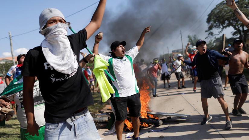 VIDEO, FOTOS: Enfrentamientos en Bolivia tras la confirmación del triunfo de Evo Morales