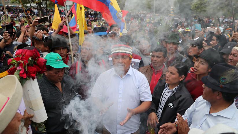 """Excanciller ecuatoriano: """"Fue una trampa de Lenín Moreno proponerles a los indígenas el diálogo"""""""
