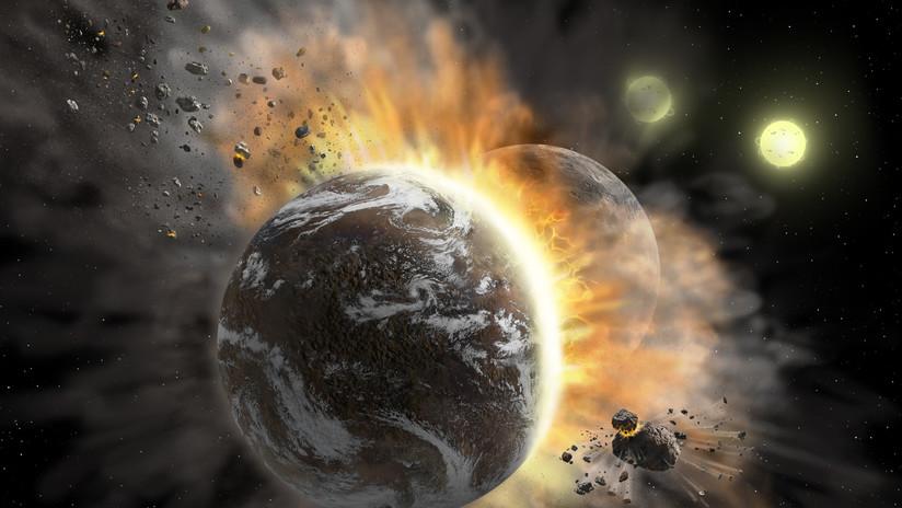 Creen haber detectado por primera vez la colisión de dos exoplanetas