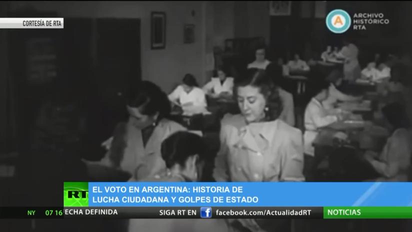 El sufragio en Argentina: Una historia de lucha ciudadana y golpes de Estado