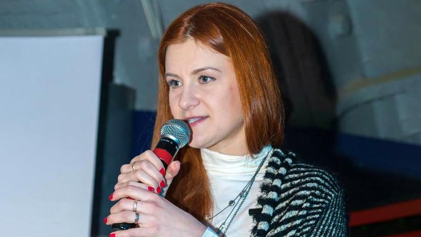 María Bútina abandona la prisión en EE.UU. y se prepara para regresar a Rusia