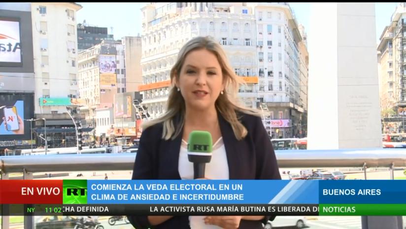 Comienza la veda electoral en Argentina en medio de un clima de ansiedad e incertidumbre