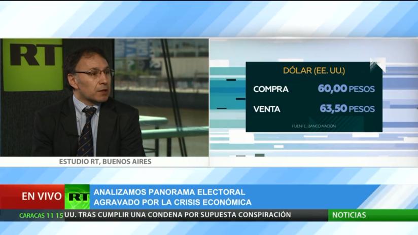 Argentina: Un panorama electoral agravado por la crisis económica