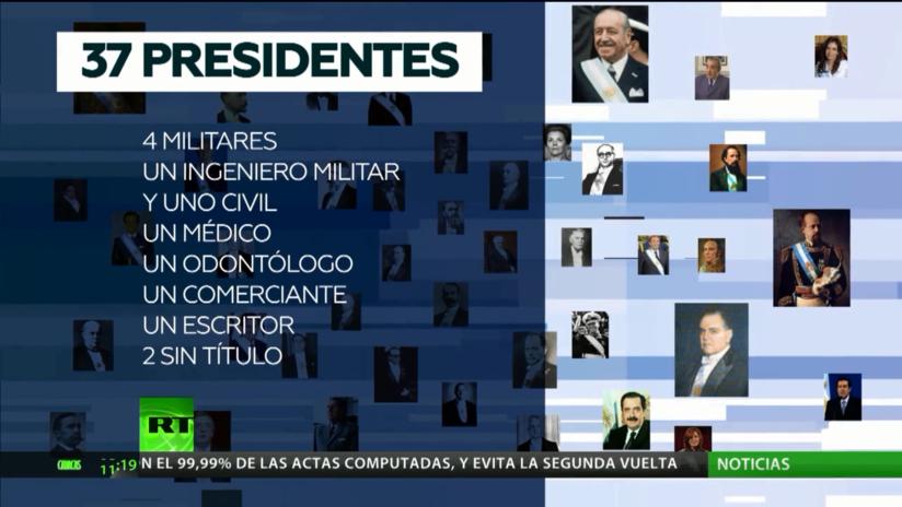 Datos curiosos y cifras sobre los presidentes de Argentina a lo largo de su historia