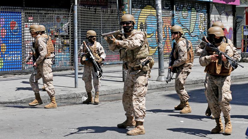 Detienen a un soldado del Ejército de Chile por negarse a participar en el estado de emergencia