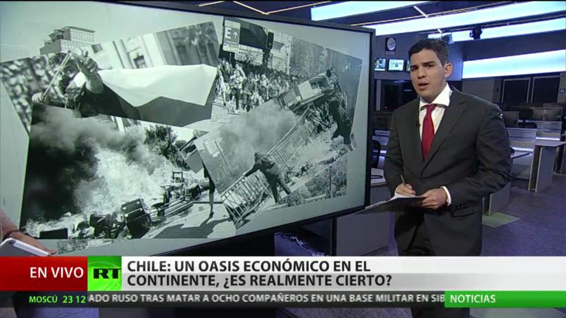 La economía de Chile registra su mayor retroceso, tras una semana de protestas