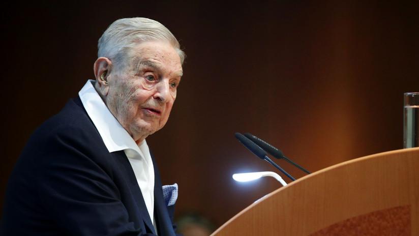 """George Soros tacha de """"dictadores"""" a sus enemigos y califica a China como """"el enemigo mortal"""" de EE.UU."""
