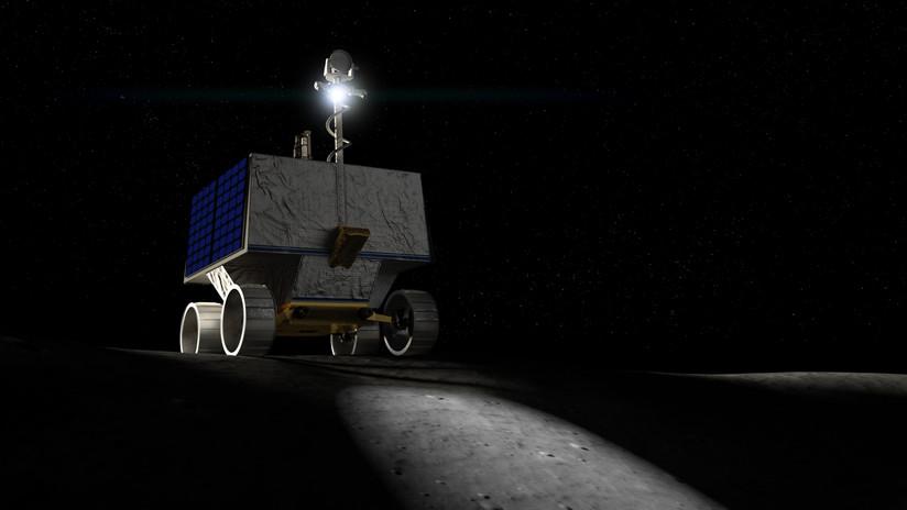 VIDEO: La NASA presenta el nuevo vehículo espacial que buscará agua en la Luna en 2022