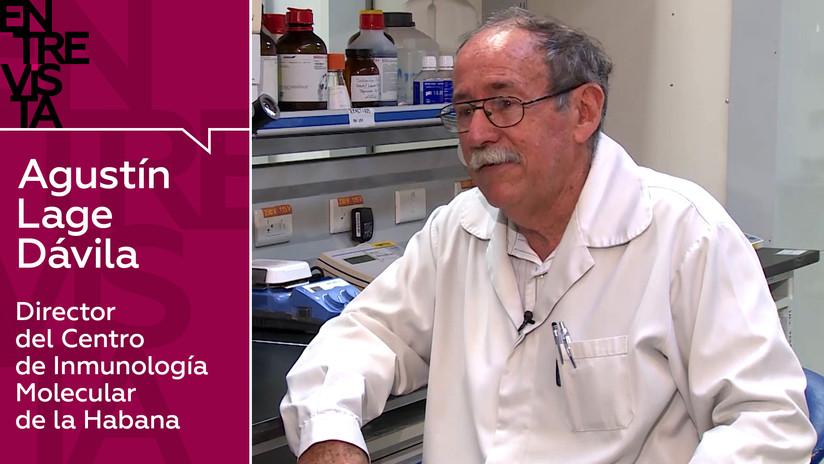 """Agustín Lage Dávila, director del Centro de Inmunología Molecular de la Habana: """"Los países del norte demonizan al Estado cubano"""""""
