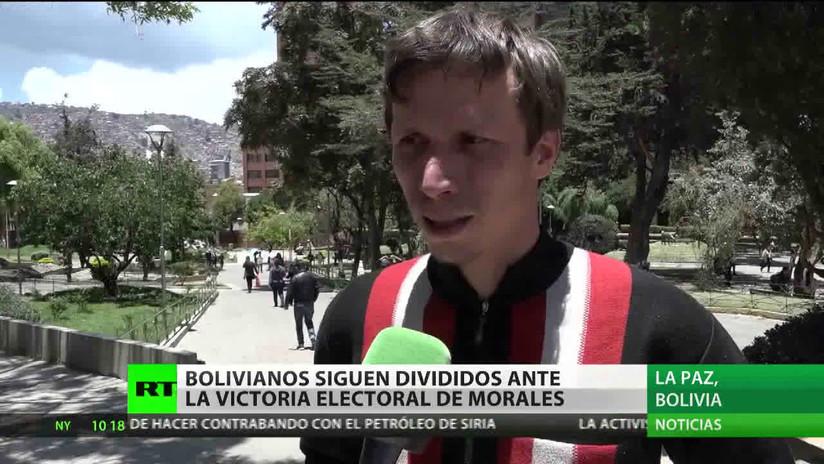 Al menos 29 heridos y 57 detenidos en las protestas tras las elecciones en Bolivia