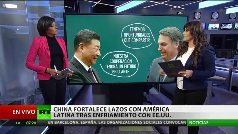 China firma acuerdos comerciales con Brasil y fortalece sus lazos con Latinoamérica