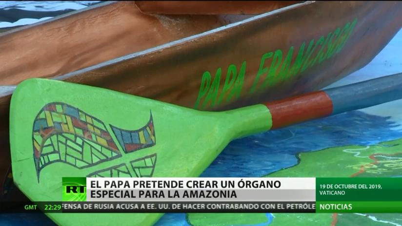 El papa pretende crear un órgano especial para la Amazonía