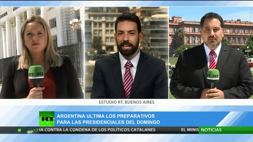 Cobertura especial: todos los pormenores de las presidenciales en Argentina en la víspera de los comicios