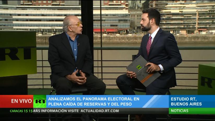 """Politólogo: """"La economía es una gran incertidumbre en Argentina"""""""
