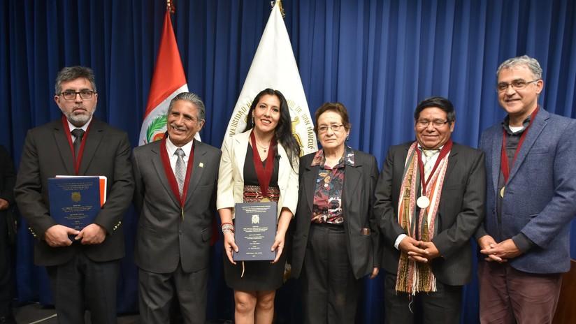 El doctorado en Perú ha hecho historia: joven escribe y defiende su tesis en quechua