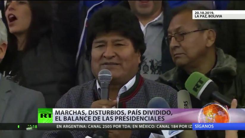 Urnas con polémica: marchas y disturbios por las presidenciales en Bolivia