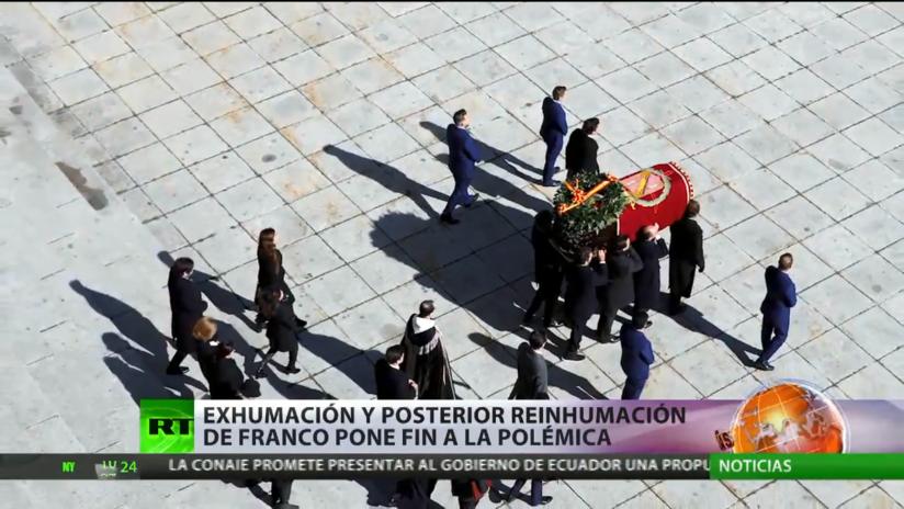 La exhumación y posterior reinhumación de Francisco Franco pone fin a la polémica en España