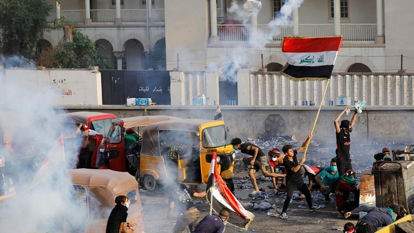 Las multitudinarias protestas antigubernamentales sacuden Irak