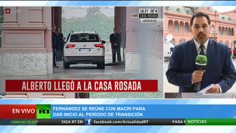 Fernández se reúne con Macri para dar inicio al periodo de transición