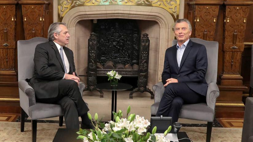 Macri y Fernández se reúnen para avanzar en la transición de gobierno
