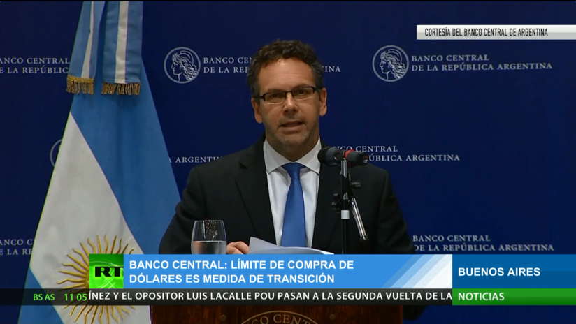Explican en el Banco Central de Argentina los motivos del nuevo cepo cambiario