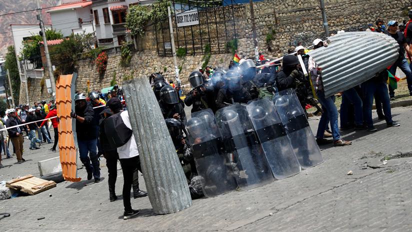 Crecen tensiones en algunas ciudades de Bolivia por choques entre opositores y seguidores de Evo Morales