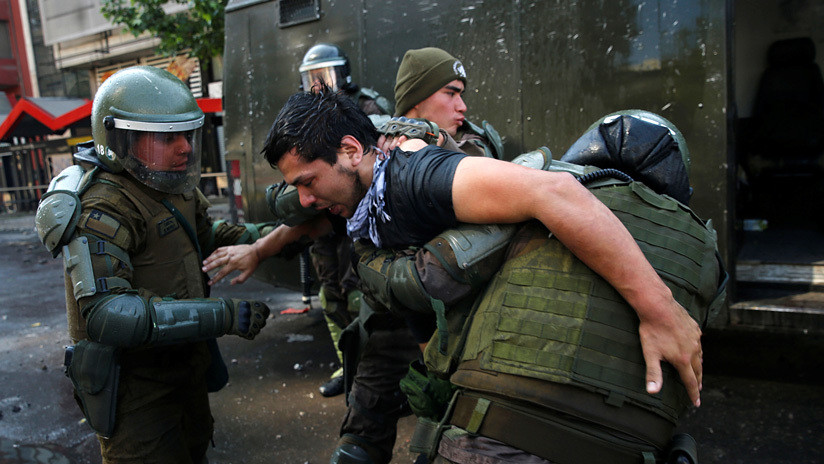 El Instituto Nacional de Derechos Humanos de Chile presentó más de 100 denuncias por la represión en las protestas