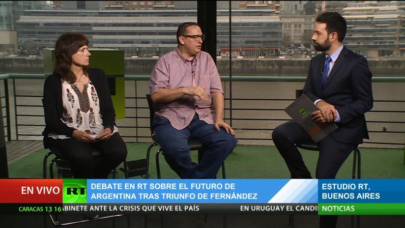 Debate en RT sobre el futuro de Argentina tras el triunfo de Fernández