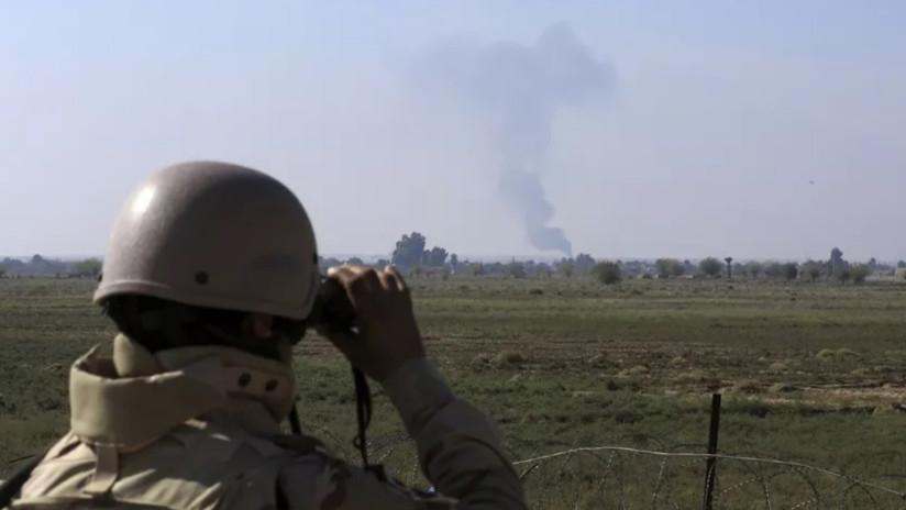 Dos obuses impactan contra una base militar iraquí donde hay soldados estadounidenses
