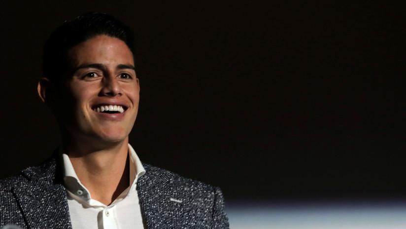 El futbolista colombiano James Rodríguez confirma el nacimiento de Samuel, su segundo hijo, mediante un 'vientre de alquiler'