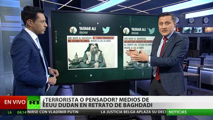 Terrorista o 'pensador'? Medios de EE.UU. dudan al retratar a Al Baghdadi